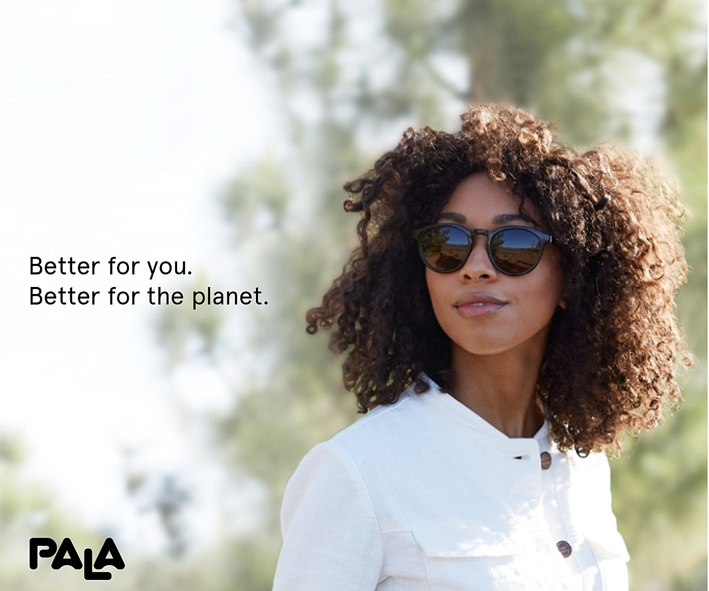pala bio-acetate sunglasses